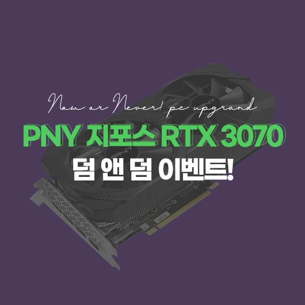 PNY 지포스 RTX 3070 행사