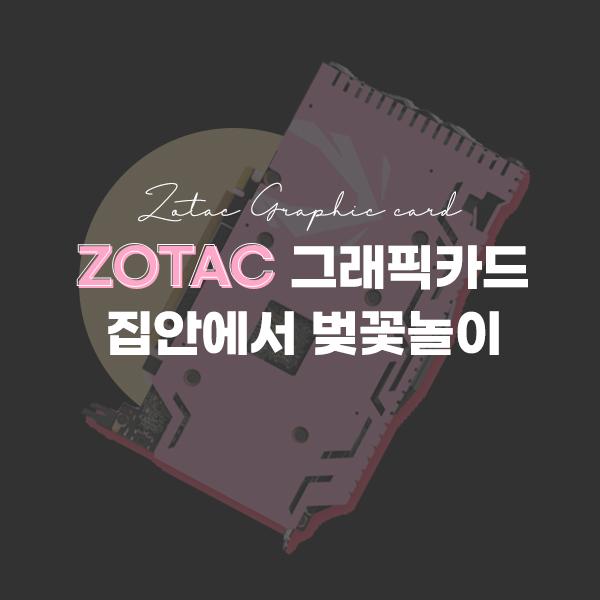 ZOTAC 그래픽카드 구매시 특별한 커스텀 백플레이트 증정